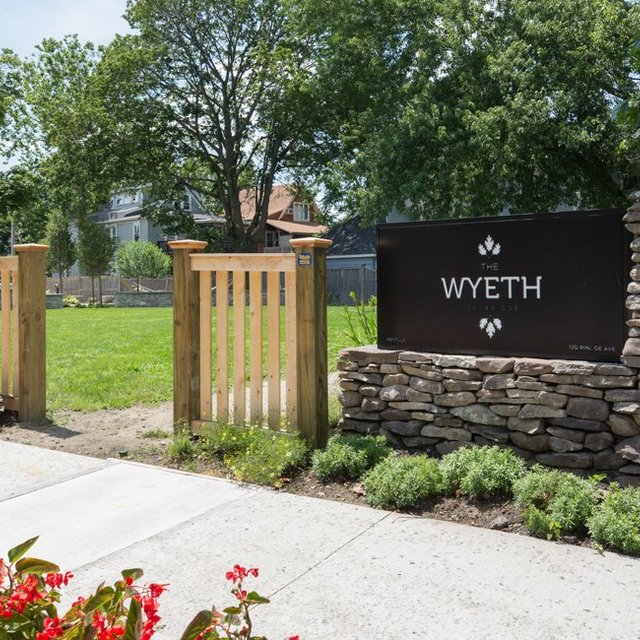 The Wyeth - Entrance Gate and Welcome Signage